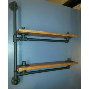 KTD58009 Kệ treo ống nước 2 tầng cách điệu