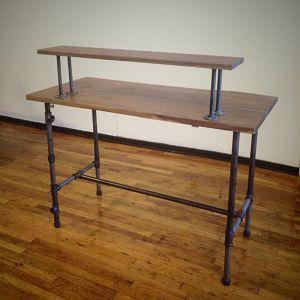 SKB58002 - Set bàn kệ 1 tầng ống nước