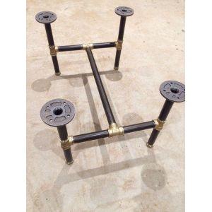 BA58013 - Chân bàn ống nước chân chữ I