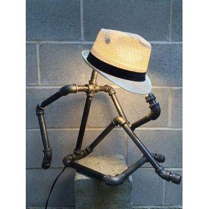 TTNT58009- Chân đèn ống nước hình người