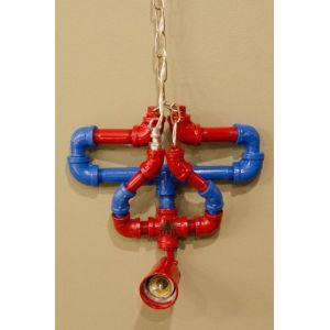 TTNT58013- Chân đèn ống nước người nhện