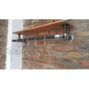 KTD58015 Kệ treo đồ ống nước cách điệu 3